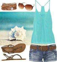 Super cute summer outfit!