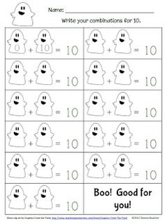Making 10 ghosts