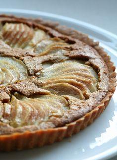 Tarta de peras y almendras  Blog El Tenedor Rosa