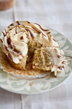 peanut butter cupcake!