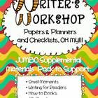 comprehensive resource for a writer's workshop following the Lucy Calkins Units of Study writer workshop, teacher