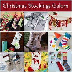 Roundup: 24+ DIY Christmas Stockings