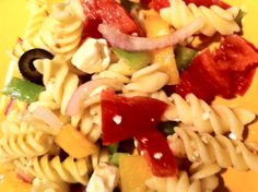 Fast and Easy Pasta Salad on MyRecipeMagic.com