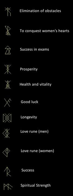 geometric tattoo inspiration / runes?