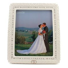 Irish Blessing Catholic Wedding Photo Frame $55.95 #CatholicCompany