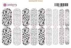 Game on! Your nails that is...CUTE crosswords, sudoku, word search, bingo and connect the dots! Made on Jamberry NAS to create custom nail wraps!