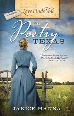 Love Finds You in Poetry, Texas by Janice Hanna, http://www.amazon.com/dp/B003GAMZJK/ref=cm_sw_r_pi_dp_3U6Fpb1ZCQZF8