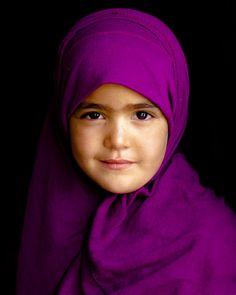 purple hijab