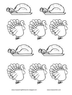 Simply Kinder: Turkey Pattern Hat Freebie