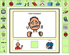 Frustrated Choice Board-   This is a choice board for students who have the tendency to display inappropriate behaviors when they are frustrated.  this would be helpful to have accessible to students when they begin to escalate. It's great for students who are verbal or non-verbal, as the visual cue helps them to make a better decision.