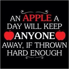 An apple a day has so many benefits! : )