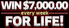 Win $7,000.00 Every Week for Life! Enter now for free - you could become a big contest winner from Publishers Clearing House Giveaway No. 30...