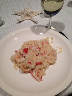 Risotto with King Crab