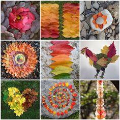 natur art, land art kids, fall leaves, kids nature art, autumn leaves, landart kids, autumn shade, art nature kids, l'automne activités