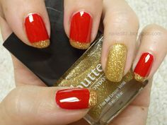 Christmas red and gold