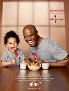 Got Milk Ads | ... star in the new 'got milk?' ad campaign pictured above. Taye says