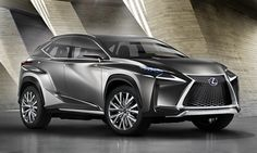 Having never been much of a looker, the ugly duckling slowly gained a confident gait.  [Lexus LF-NX crossover concept]