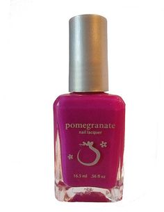Pomegranate Nail Lacquer — Heliotrope - neon purple nail polish