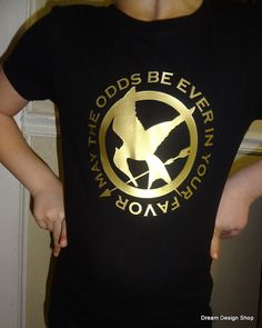 Hunger Games Shirt May the Odds be Ever in Your by DreamDesignShop, $15.00
