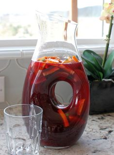 Mika's Basic Red Sangria Recipe - Easy instructions for how to make any flavor of sangria