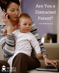 Are You A Distracted Parent? GREAT trips to keep the focus on the family, rather than on your phone.