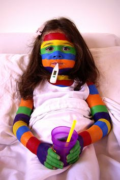 """Book Parade for next year!!!  -- YAY!   she's got """"a bad case of stripes!""""  I absolutely LOVE that book!"""