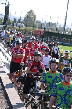 Riders having a blast at a 2011 Tour de Cure event!    Sign up for a 2013 ride near you TODAY at http://tour.diabetes.org
