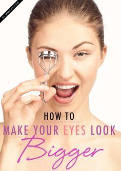 make your eyes look bigger