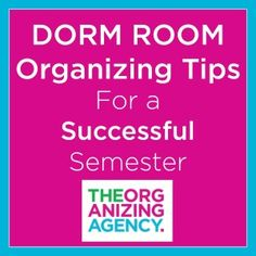 Dorm Room Organizing Tips For a Successful Semester