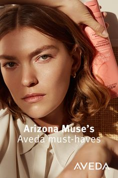 Renowned model and Aveda Global Advocate for Sustainability Arizona Muse shares her 100% vegan Aveda favorites, as well as her recommendations for living a greener, more sustainable lifestyle.