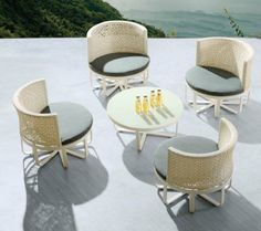 Milan Chair Set for 4