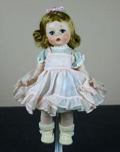 SLNW 1953 Madame Alexander All Original w RARE Top Stitch Side Snap Shoes EXC | eBay