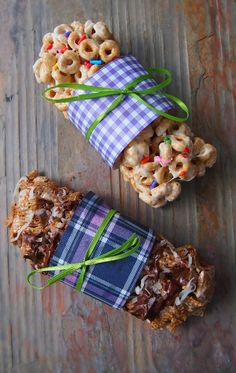 Cereal Bars - On The Go Breakfast!