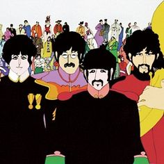 The Beatles from there movie Yellow Submarine:)