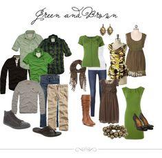 green clothing idea