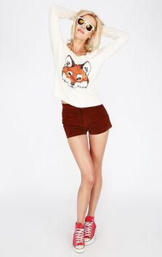 FOX TROT V NECK SWEATER