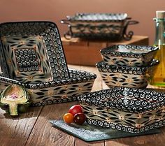 Temp-tations Old World 11-pc. Square Oven-to-Table Set