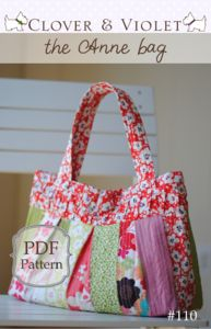 pattern: anne bag $9