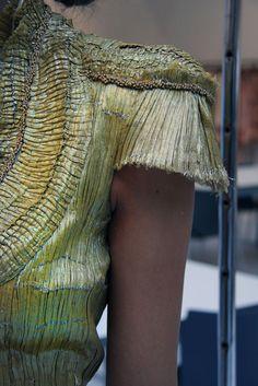 Alexander McQueen S/S 2012, photograph by Filep Motwary