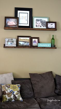 Living Room Details - Budget Room Redo Tips