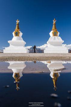 Tibetan stupas
