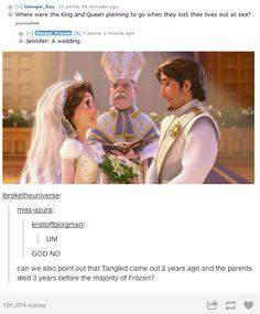 canon, rapunzel in frozen, the queen, disney queens, children, sea, blown, tangled wedding, movi tangl