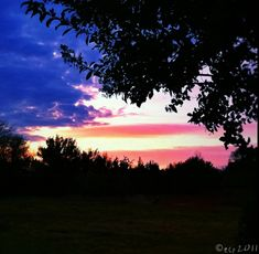 An Amazing View of a Patriotic Sky