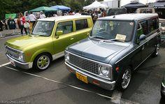 american bodies on japanese micro van