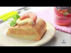 ▶ Brazo de Gitano Rosa con Salsa Cocktail - YouTube