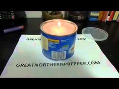 How to make an Emergency Crisco candle