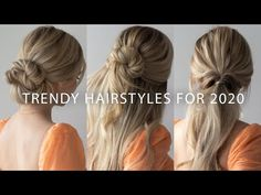 (1) NEW Easy Hairstyles For 2020🌟🔥 - YouTube
