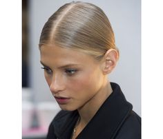 The Slicked-Back Bun | Amazing Keep-Hair-Off-Your-Neck Styles