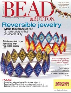 BEAD & BUTTON AUGUST 2013
