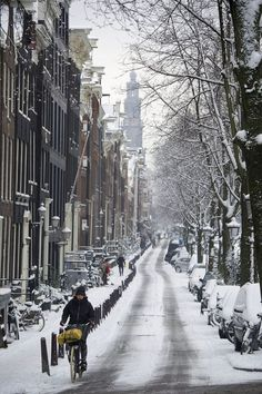 Winter in Amsterdam - The Netherlands
